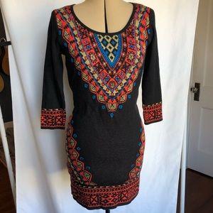Flying Tomato   Sweater bodycon Mini Dress